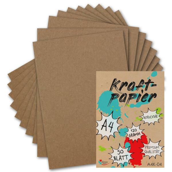 Bastelpapier A4 Vintage 60 Blatt braun 155 Gramm Bastelkarton  Hochzeit basteln